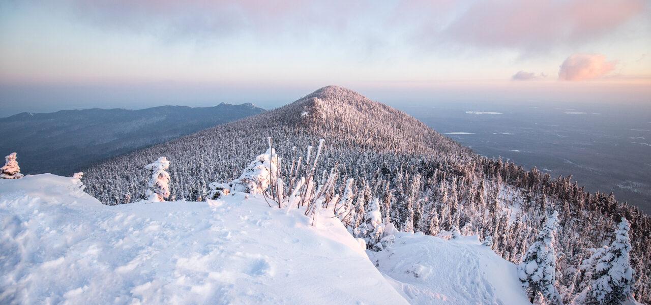 Lever de soleil au mont Mégantic
